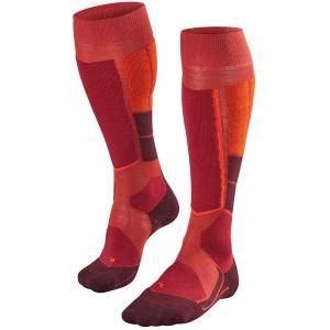 Falke Damen ST 4 Wool Socke Orange 36, 35