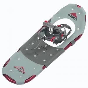 McKinley Schnee Schuh Summit (Größe: L = ca. 70-115 kg Körpergewicht, Farbe: 901 grau/rot/schwarz)