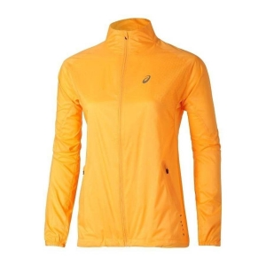 asics Woven Jacket Damen Laufjacke orange Gr. XL