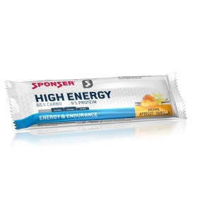 Sponser High Energy Riegel Aprikose-Vanille