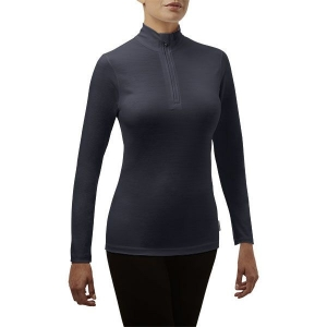 Rewoolution Women Jolly Half Zip Long Sleeve meteorite - L