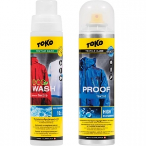 Toko Duo Pack Textile Proof & ECO Textile Wash 250ml