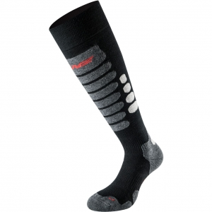 Lenz Socks Skiing 3.0 black/grey - 45-47