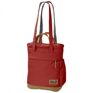 Jack Wolfskin Piccadilly Schultertasche (Farbe: 3740 mexican pepper)