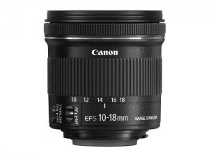 Canon EF-S 10-18 / 4.5-5.6 IS STM – schwarz
