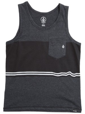Volcom 3 Quarter Heather Tank Top