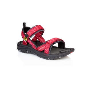 Source Gobi Damen Sandalen rot,tribal red