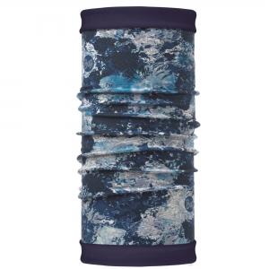 Buff Polar Reversible Buff Multifunktionstuch winter garden blue,blau