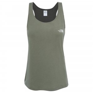 The North Face W Redbox S/L Tee Shirt Damen olive Gr. M