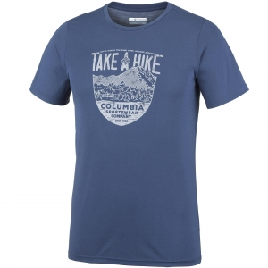 Columbia Laney Hill Short Sleeve Tee Men T-Shirt dunkelblau Herren