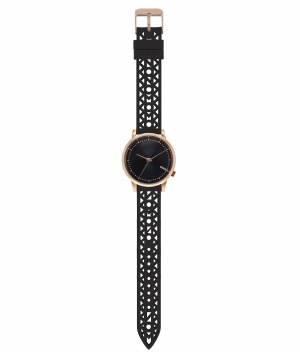 Damen Armbanduhr ´´Estelle Cutout´´ black rose