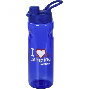 Trinkflasche I love Camping 0,75 l