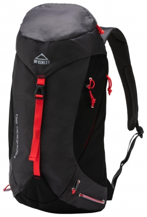 McKinley Midwood 20 Rucksack (Farbe: 903 anthrazit/black/red)
