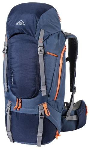 McKinley Make 50+10 Women Trekkingrucksack (Farbe: 900 navy/blue/orange)