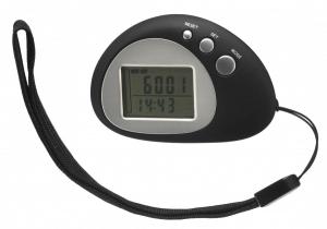 K&R USB Activity Schrittzähler (Farbe: 001 schwarz/silber)
