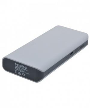 Baladeo Powerbank Nomade S 11000 - Akku Energiespeicher mit 2 USB Ausgänge - grau - 11000 mAh