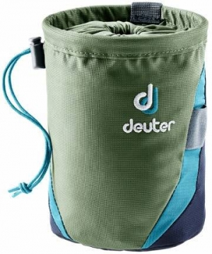 Deuter Gravity Chalk Bag I - Magnesiumbeutel - Gr.L - khaki/navy
