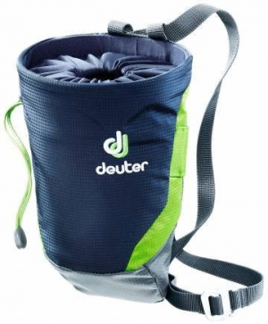 Deuter Gravity Chalk Bag II - Kletterbeutel / Magnesiumbeutel - Gr.L - navy blue/granite