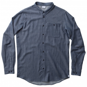 Houdini - Out And About Shirt - Longsleeve Gr M blau/grau