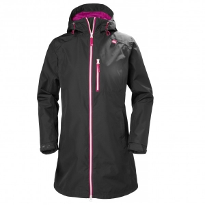 Helly Hansen - Women's Long Belfast Jacket - Mantel Gr XS schwarz