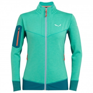 Salewa - Women's Ortles Stretch Hybrid Jacket - Fleecejacke Gr 34;36;38;40;42 türkis