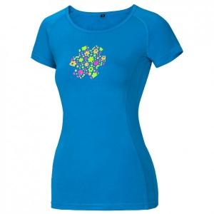 Ocun - Women's Bamboo Meadow - T-Shirt Gr L;M;XL;XS rosa;blau