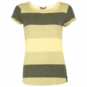 Chillaz - Women's Ötztal Stripes - T-Shirt Gr 32;34;36;38;42;44 beige/oliv;grau