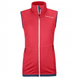 Ortovox - Women's Fleece Light Vest - Fleeceweste Gr L;M;S;XL;XS rot/rosa;blau;türkis