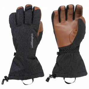 Norrøna - Trollveggen Dri Primaloft170 Long Gloves Gr XL schwarz/orange