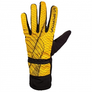 La Sportiva - Winter Running Glove - Handschuhe Gr S orange/schwarz/braun