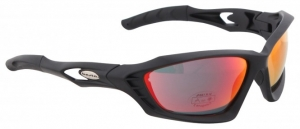 BASTA SPACE Sonnenbrille black/red