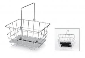 XLC: Alu-Korb carry more passend für XLC Systemgepäckträger
