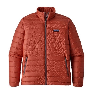 Patagonia Herren Down Sweater Rot L