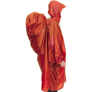 Exped Pack Poncho Orange L