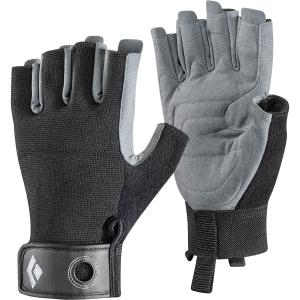 Black Diamond Crag Half-Finger Handschuh Schwarz M