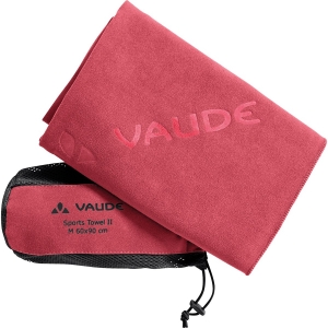 Vaude Sports Towel II M Rot