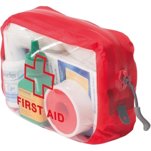 Exped Clear Cube First Aid Rot