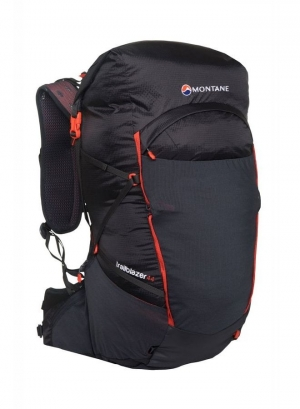 Montane Trailblazer 44 - charcoal - firefly orange