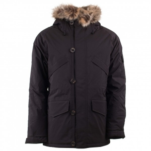 66 North - Snæfell Parka Special Edition with Fake Fur - Winterjacke Gr M;XL schwarz;blau