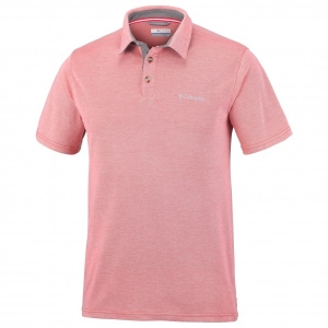 Columbia - Nelson Point Polo - Polo-Shirt Gr 3XL - Wide 29,5'';4XL - Wide 29,5'';L - Regular 27'';M - Regular 27'';S - Regular 27'';XL - Regular 27'';XXL - Regular 27'' grau/schwarz;blau;rosa