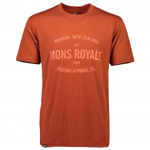 Mons Royale - Icon T-Shirt - T-Shirt Gr S rot