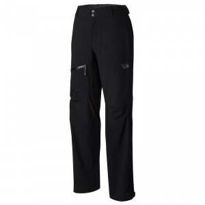 Mountain Hardwear - Women's Stretch Ozonic Pant - Regenhose Gr L - Long;L - Regular;M - Long;M - Regular;S - Long;S - Regular;XL - Regular;XS - Regular schwarz