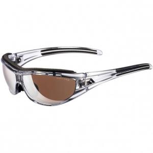 adidas Evil Eye Pro L Transparent Black/LST Active Silver + LST Bright Antifog Brille a126 00 6069
