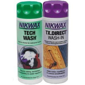 NIKWAX Tech Wash & TX Direct Pflegemittel - Ausrüstungs- & Textilpflege