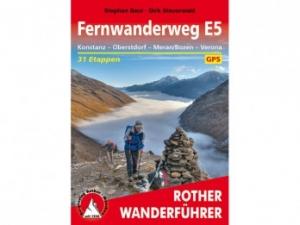 BERGVERLAG ROTHER Fernwanderweg E5 - Bücher