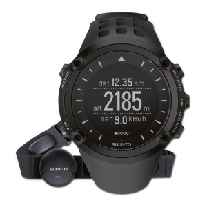 SUUNTO Ambit Black HR - GPS Armbandtrainer