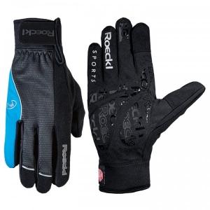 ROECKL Winterhandschuhe Rabal schwarz-blau - Rad Handschuhe