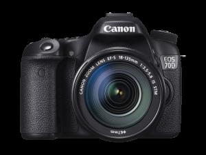 CANON EOS 70D + EF-S 18-135 - Kamera