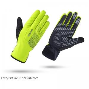 GRIPGRAP Ride Waterproof Hi-Vis Thermal - Rad Handschuhe