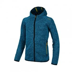 CMP Knitted Fox Hood Jacket - Fleecejacken